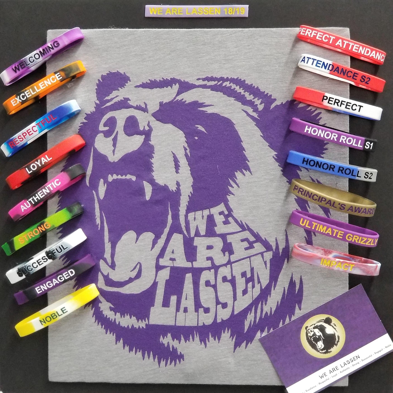 We R Lassen gear you can earn